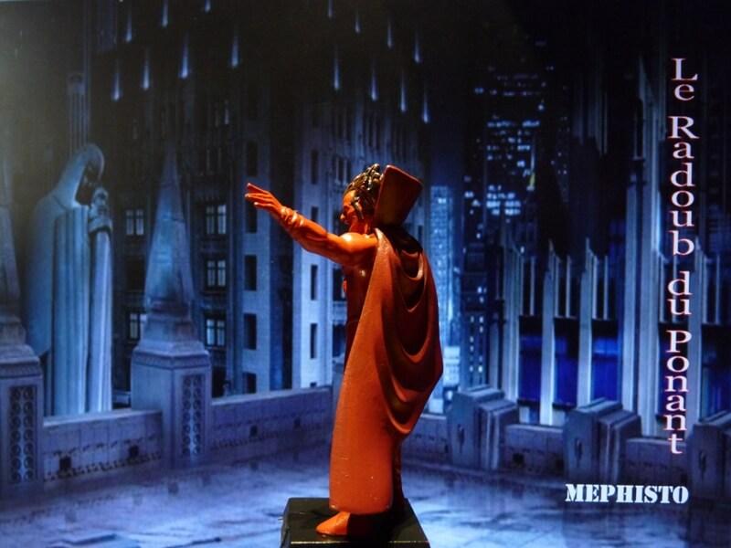Méphisto - Figurine en plomb Mlmfo310