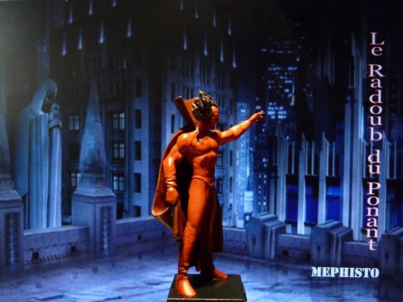 Méphisto - Figurine en plomb Mlmfo710