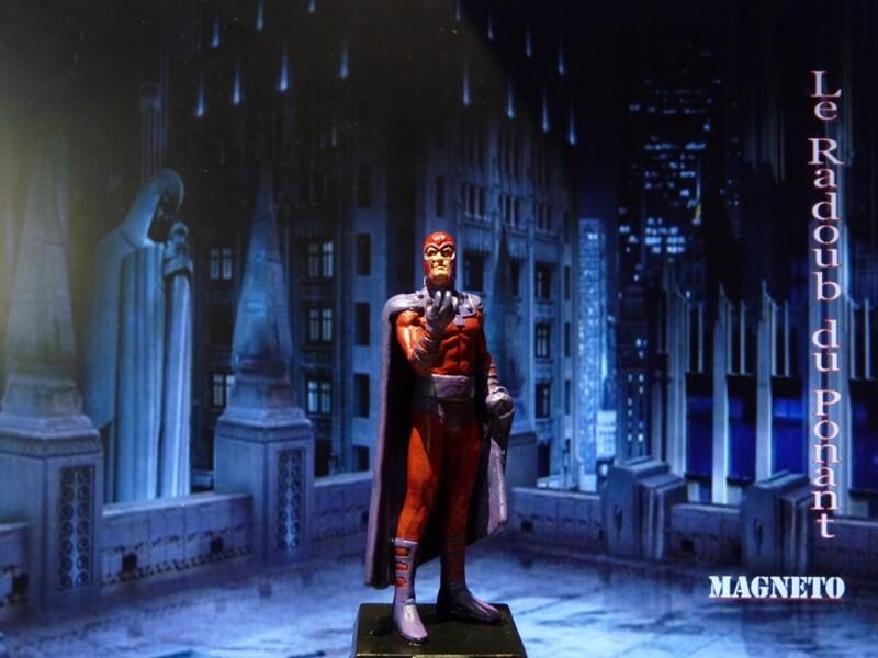 Magneto - Figurine en plomb Mlmgo110