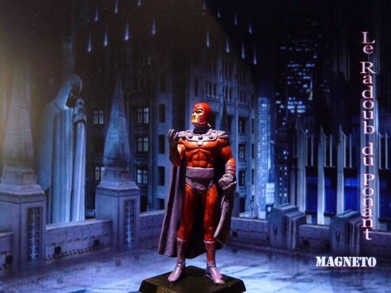 Magneto - Figurine en plomb Mlmgo210
