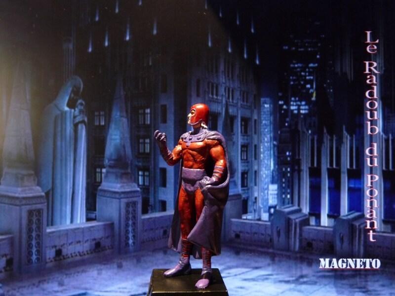Magneto - Figurine en plomb Mlmgo310