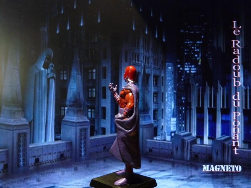 Magneto - Figurine en plomb Mlmgo410
