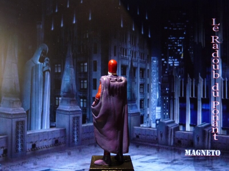 Magneto - Figurine en plomb Mlmgo510