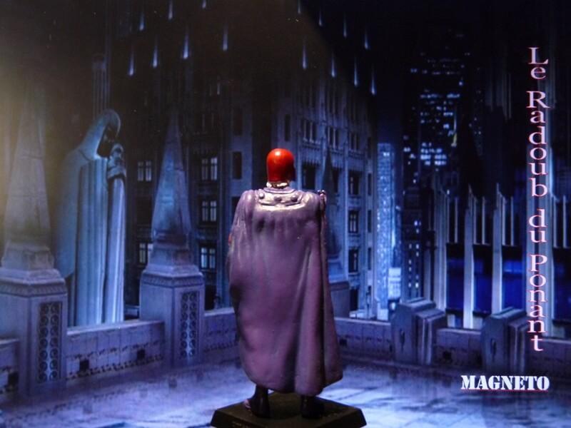 Magneto - Figurine en plomb Mlmgo610