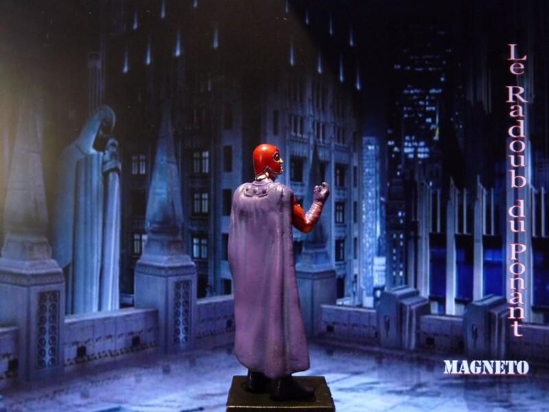 Magneto - Figurine en plomb Mlmgo710