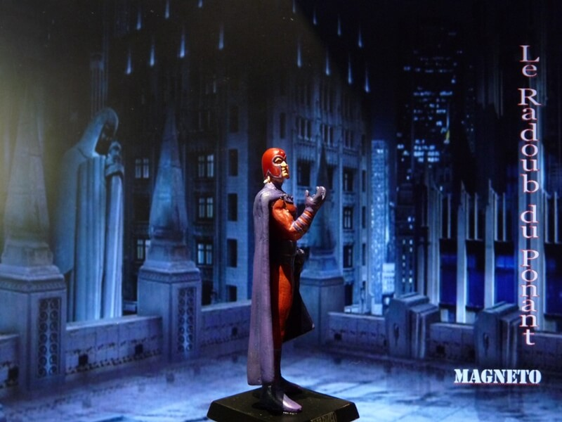 Magneto - Figurine en plomb Mlmgo810