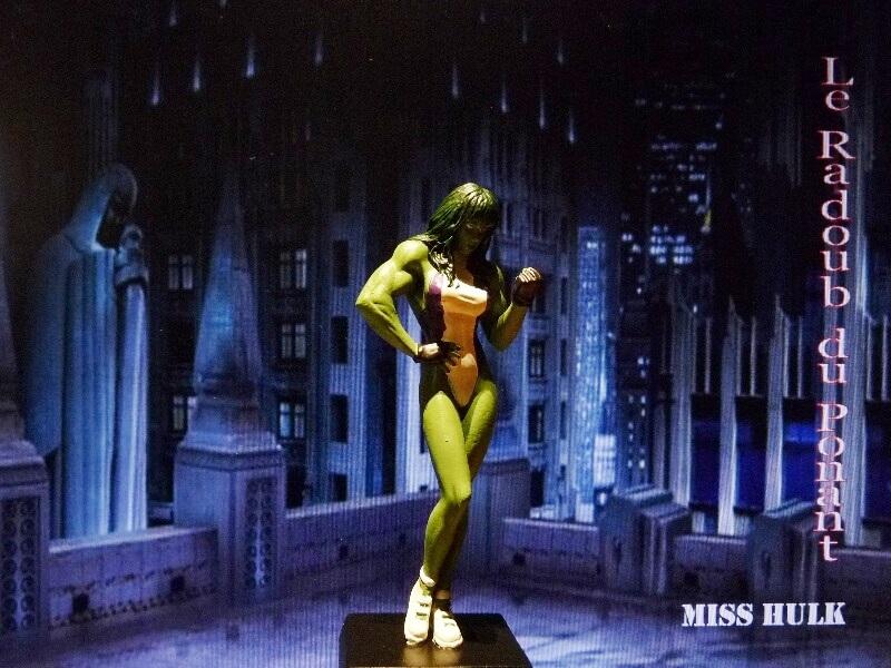 Miss Hulk - Figurine en plomb Mlmsh110