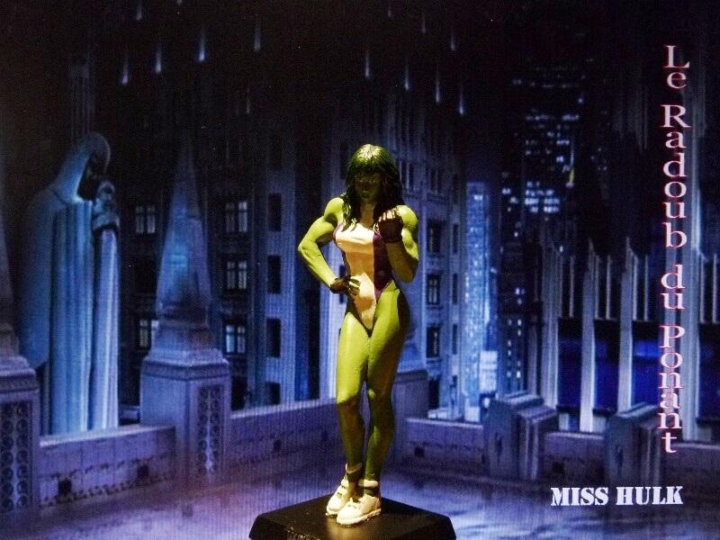Miss Hulk - Figurine en plomb Mlmsh210
