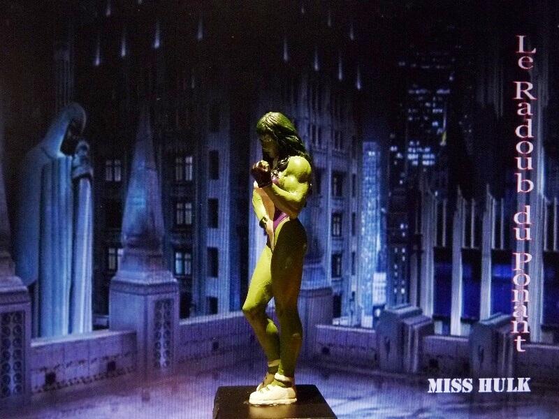 Miss Hulk - Figurine en plomb Mlmsh310