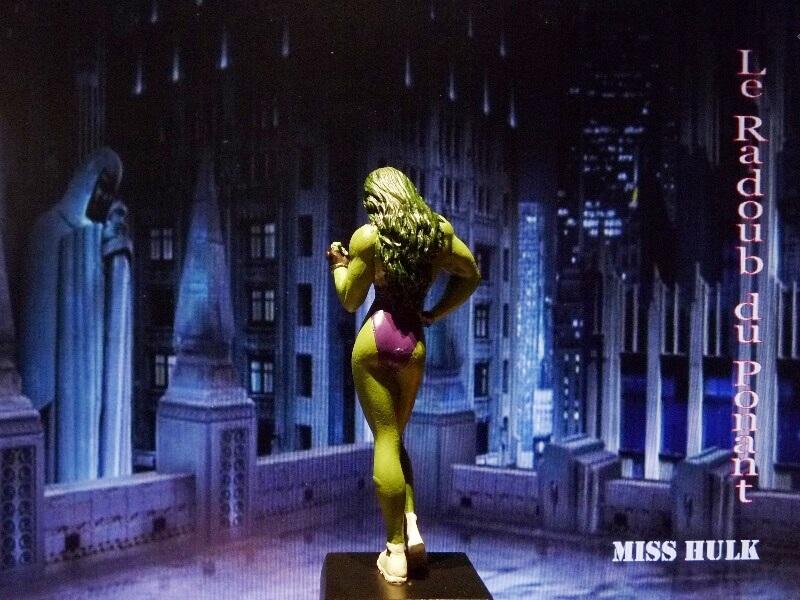 Miss Hulk - Figurine en plomb Mlmsh510