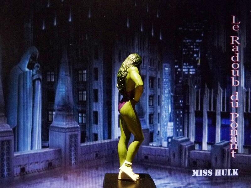 Miss Hulk - Figurine en plomb Mlmsh710