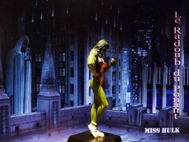 Miss Hulk - Figurine en plomb Mlmsh810
