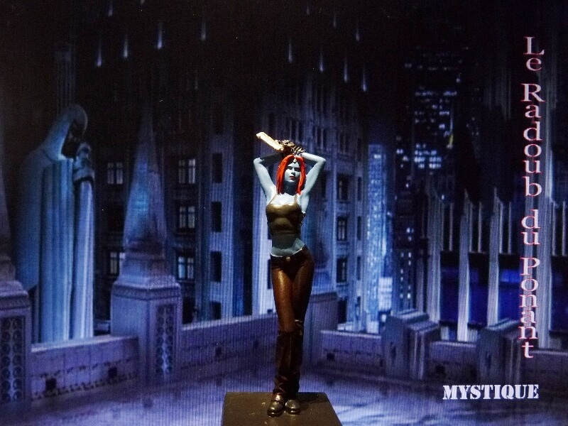 Mystique - Figurine en plomb Mlmst110