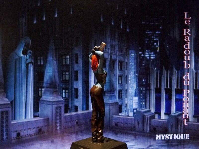 Mystique - Figurine en plomb Mlmst610
