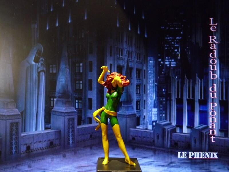 Le Phenix - Figurine en plomb Mlphx110