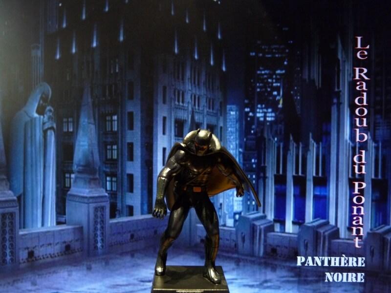 Panthère Noire - Figurine en plomb Mlpthe10