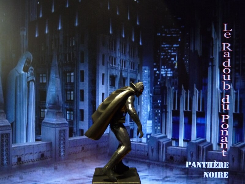 Panthère Noire - Figurine en plomb Mlpthe11