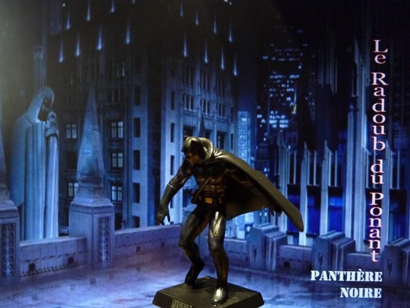 Panthère Noire - Figurine en plomb Mlpthe12