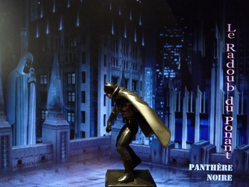 Panthère Noire - Figurine en plomb Mlpthe13