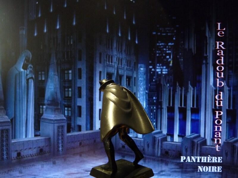 Panthère Noire - Figurine en plomb Mlpthe14