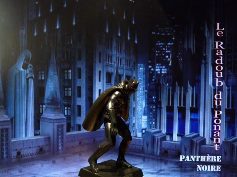 Panthère Noire - Figurine en plomb Mlpthe15