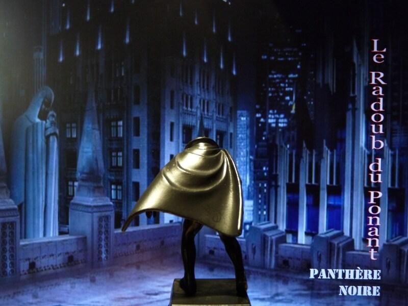 Panthère Noire - Figurine en plomb Mlpthe16