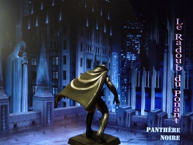 Panthère Noire - Figurine en plomb Mlpthe17