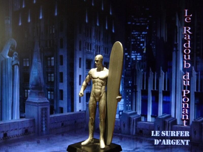 Le Surfer d'Argent - Figurine en plomb Mlsa210