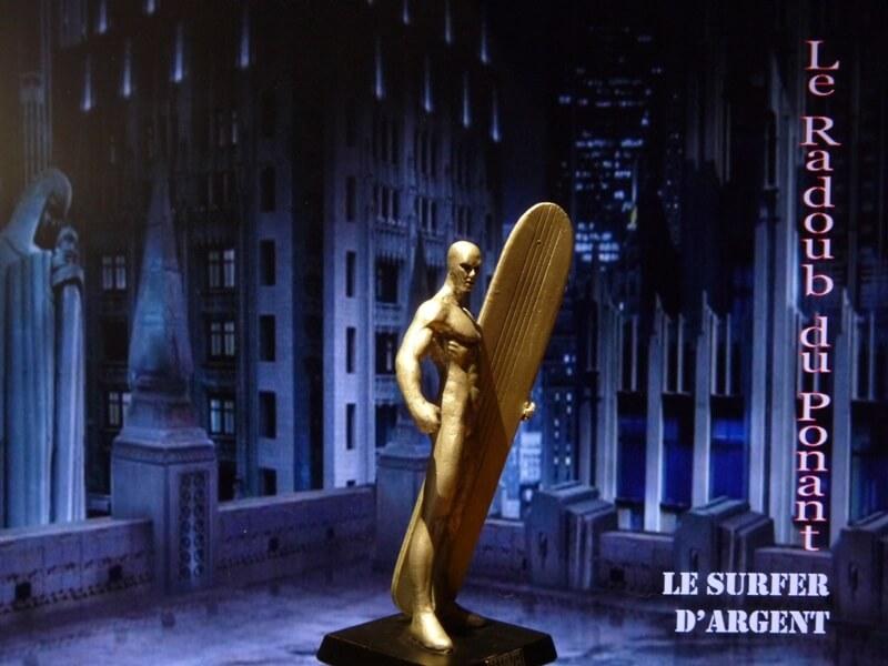Le Surfer d'Argent - Figurine en plomb Mlsa810