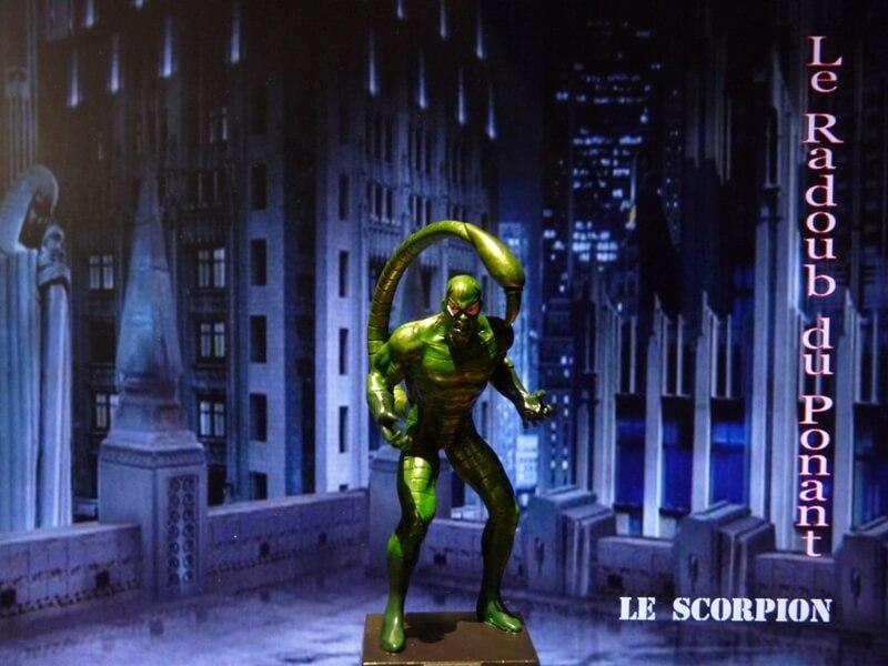 Le Scorpion - Figurine en plomb Mlscp110