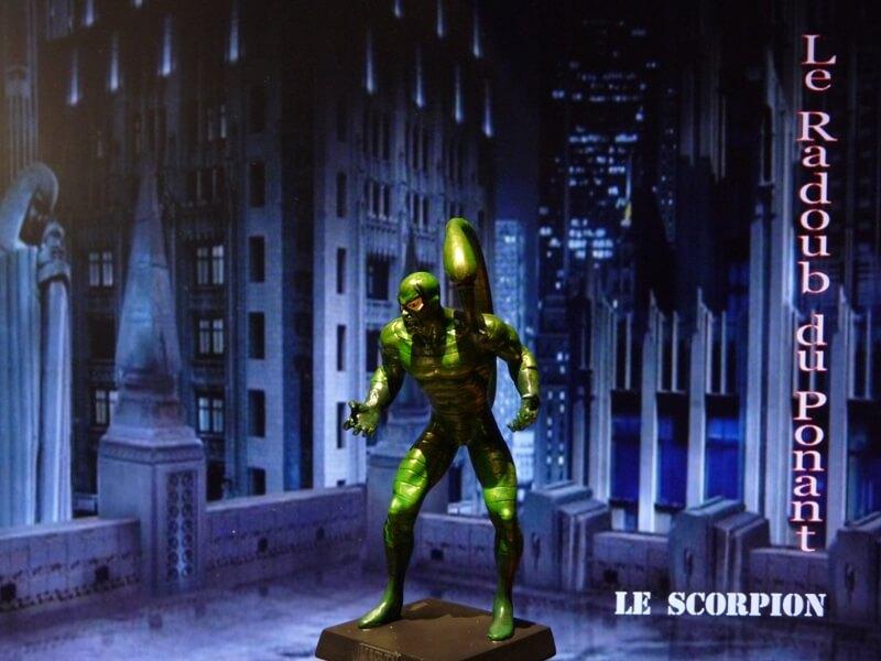 Le Scorpion - Figurine en plomb Mlscp210