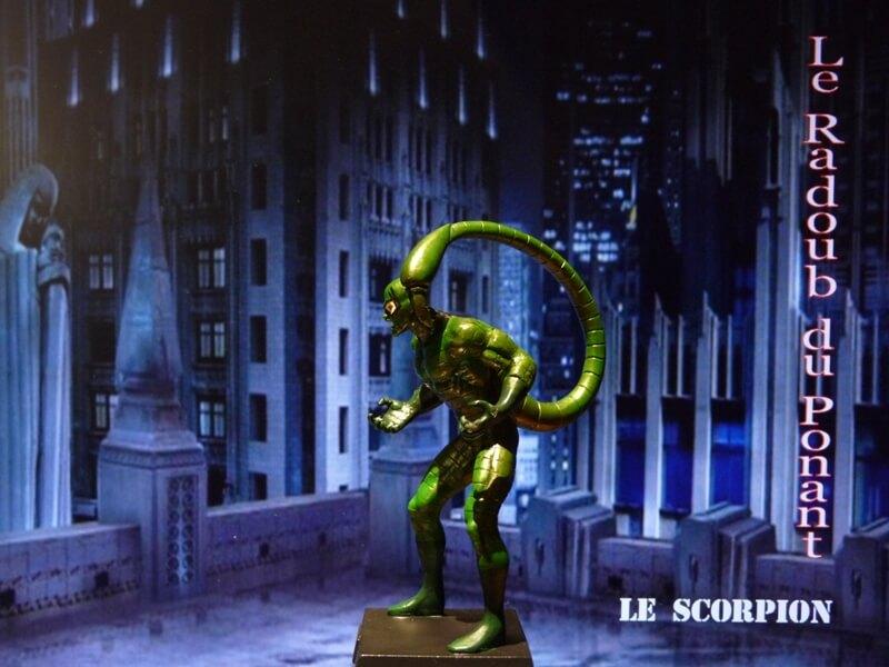 Le Scorpion - Figurine en plomb Mlscp310