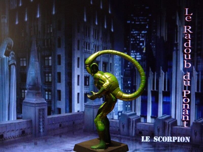 Le Scorpion - Figurine en plomb Mlscp410