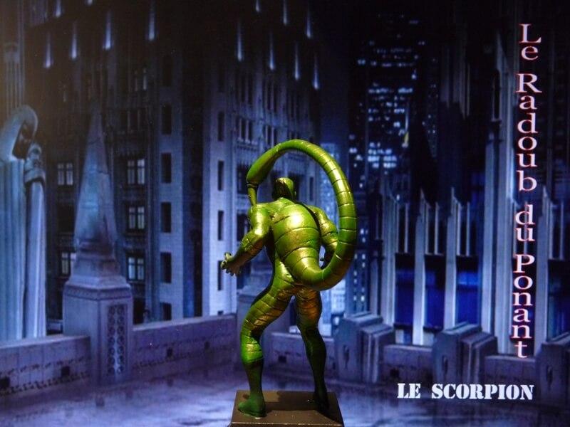 Le Scorpion - Figurine en plomb Mlscp510