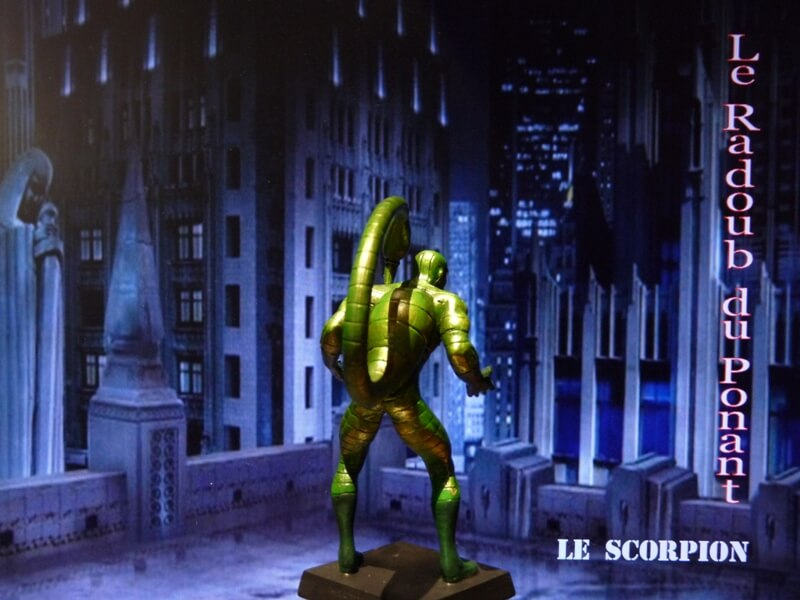Le Scorpion - Figurine en plomb Mlscp610
