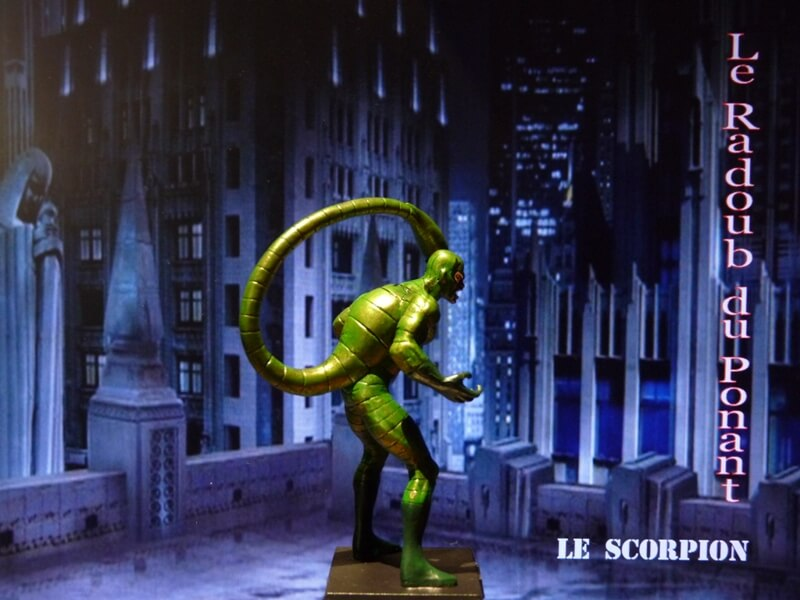 Le Scorpion - Figurine en plomb Mlscp710