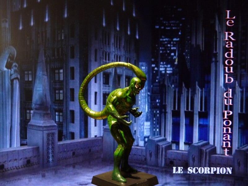 Le Scorpion - Figurine en plomb Mlscp810