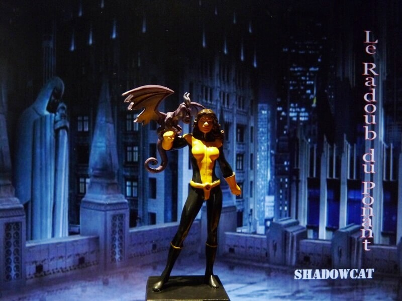 Shadowcat - Figurine en plomb Mlswc110