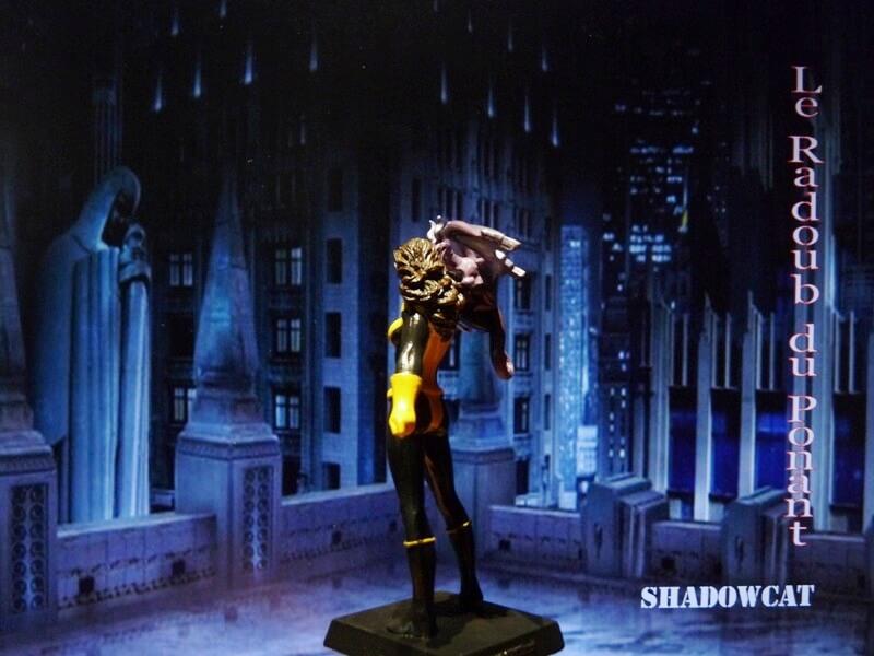 Shadowcat - Figurine en plomb Mlswc410