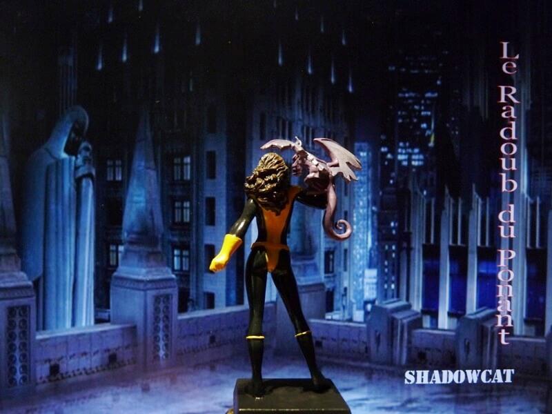 Shadowcat - Figurine en plomb Mlswc510