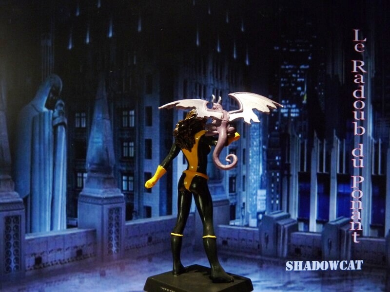 Shadowcat - Figurine en plomb Mlswc610