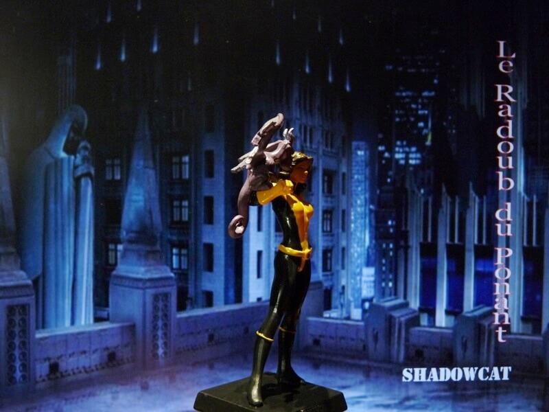 Shadowcat - Figurine en plomb Mlswc810