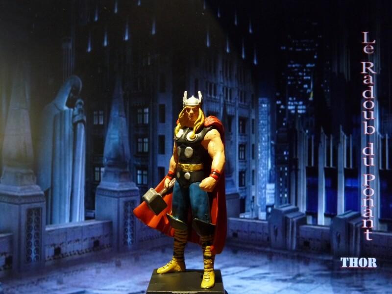 Thor - Figurine en plomb Mlthr110