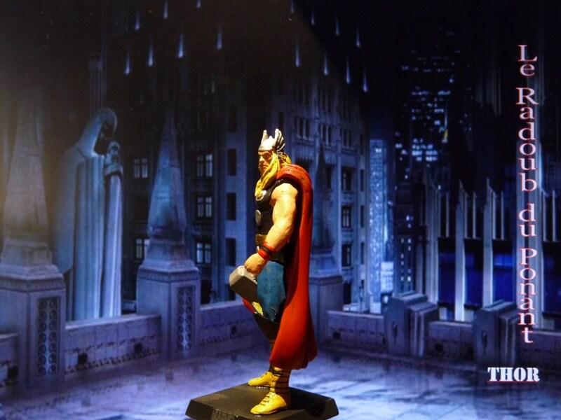 Thor - Figurine en plomb Mlthr210