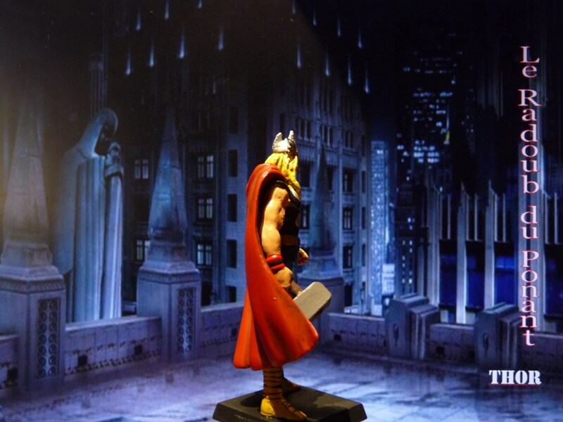 Thor - Figurine en plomb Mlthr610