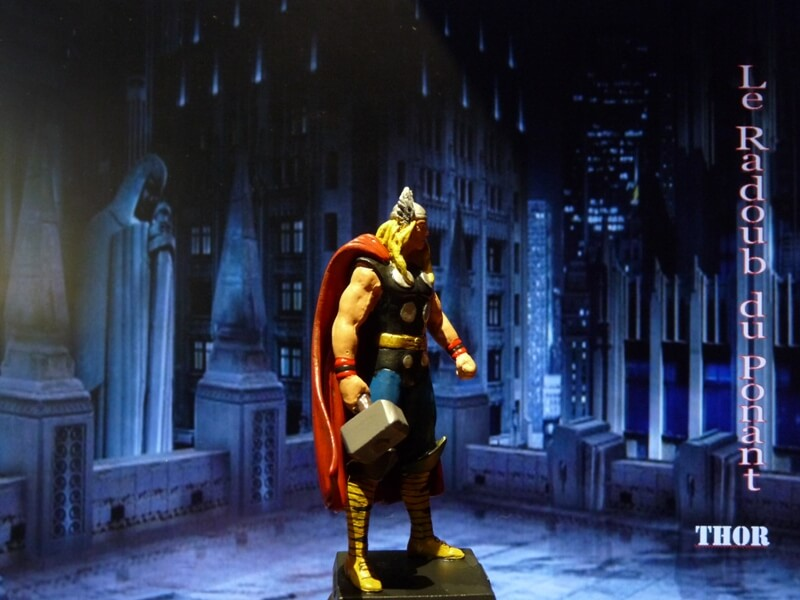 Thor - Figurine en plomb Mlthr710