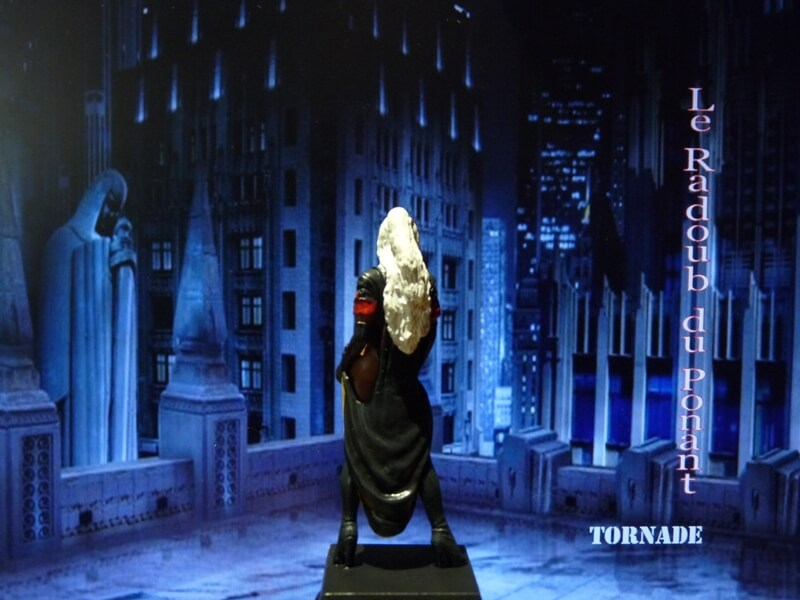 Tornade - Figurine en plomb Mltrd510