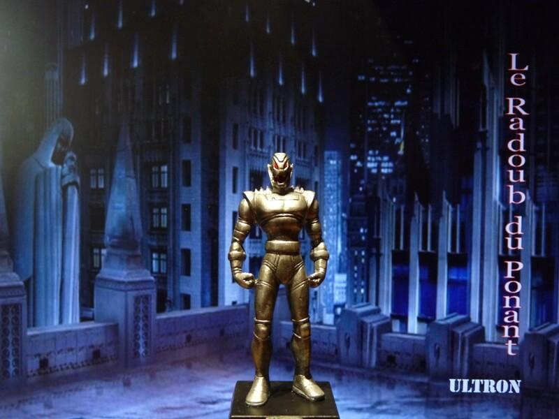 Ultron - Figurine en plomb Mlun110