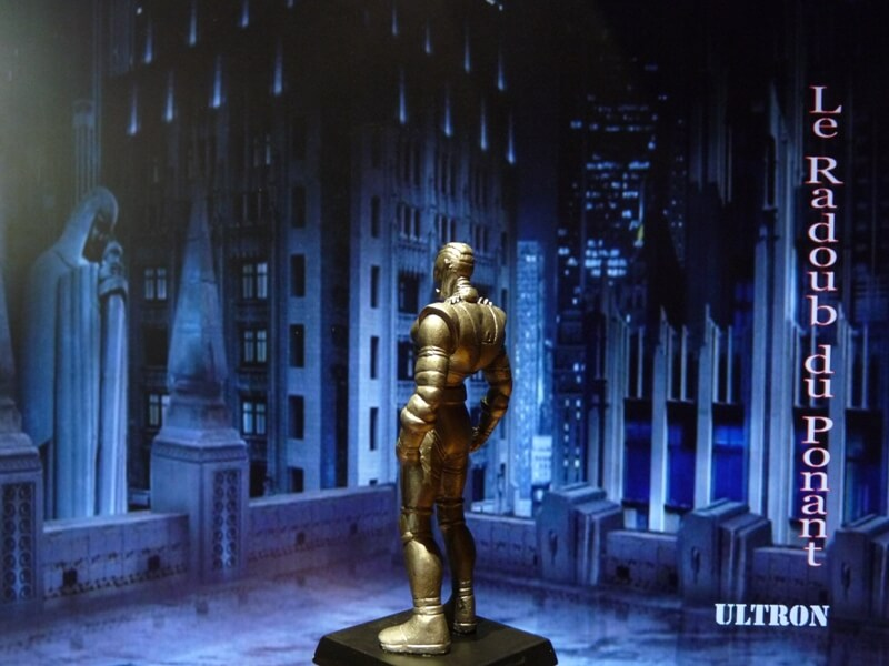 Ultron - Figurine en plomb Mlun410