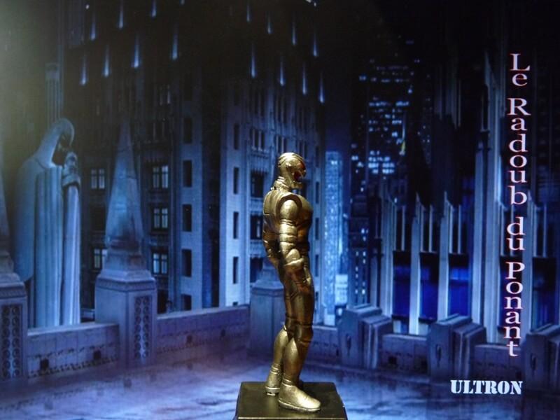 Ultron - Figurine en plomb Mlun710